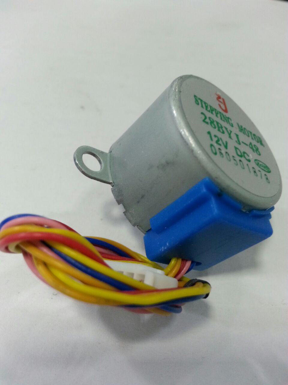 Unipolar Stepper Motor Usm 28byj 48 12v Dc Rajiv Electronics Wiring